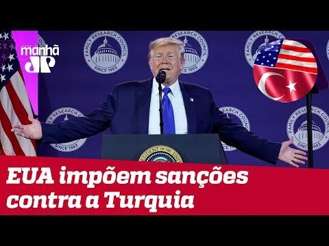 EUA impõem sanções contra a Turquia após ataques a curdos na Síria