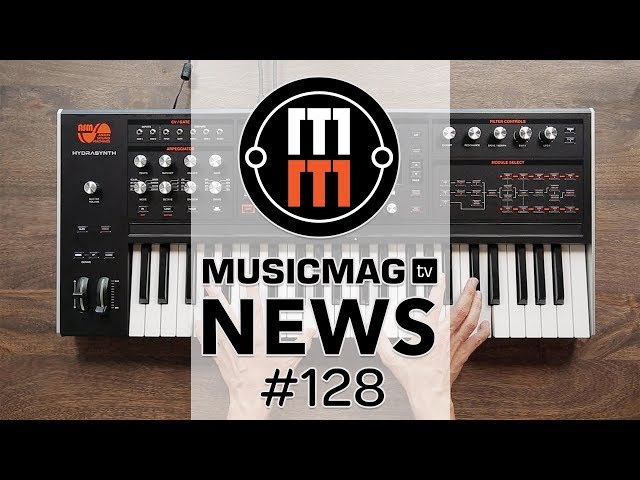 MusicMagTV News #128: Roland MC-707, ASM Hydrasynth, Modal Argon8 и др.