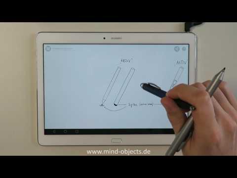 Wie unterscheiden sich Eingabestifte für Tablets und Smartphones?