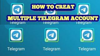 HOW TO CREATE MULTIPLE TELEGRAM ACCOUNT(TAGALOG)  2020