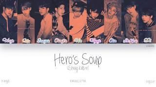 [HAN ROM ENG] Stray Kids (스트레이 키즈) - Hero's Soup (해장국) (Color Coded Lyrics)