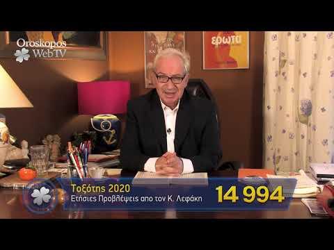 Τοξότης 2020 Ετήσιες Προβλέψεις Κώστα Λεφάκη σε βίντεο