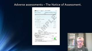 Notice of Assessments - What do you do when things do not go as planned?