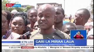 Gari la Miraa lamgonga na kumua mwanafunzi wa kidato cha tatu Embu