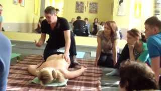 Обучение массажу  Как делать массаж так, чтобы не уставать