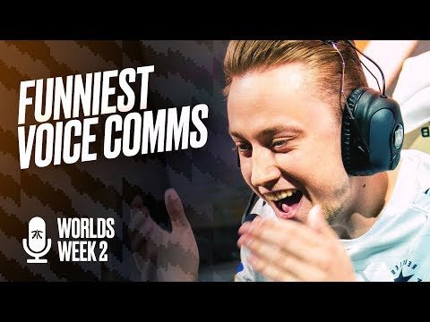 LET'S F*CKING GOOOO! | Fnatic Voice Comms - Worlds Groups W2