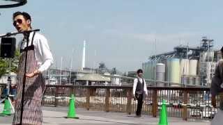 シルヴプレ 港のクリーニング ようこそヨコサカ @清水みなと大道芸
