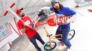 Skateboarder Tries EVERY EXTREME SPORT  / Warehouse Wednesday