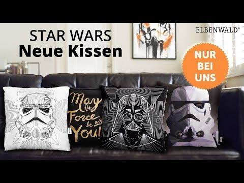 Exklusive Star Wars Kissen: Wenn eins nicht genug ist!
