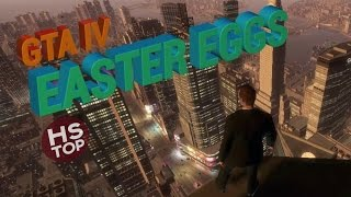 GTA IV - Top 10 Easter Eggs, Top 10 các bí ẩn trong GTA IV