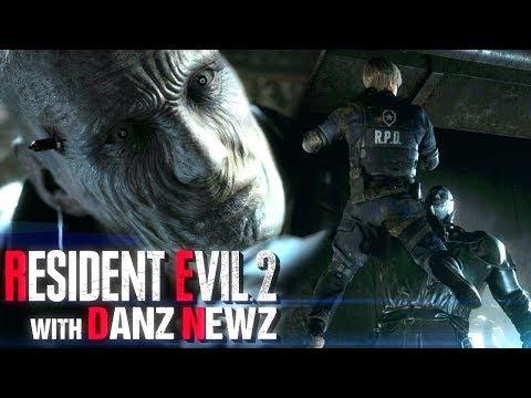 Near Death Experiences - Resident Evil 2 w/ Danz Newz Pt4