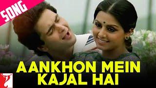 Ankhon Mein Kajal Hai Song  Doosara Aadmi  Rishi Kapoor  Neetu Singh  Rakhee