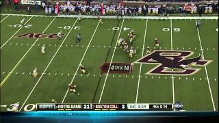Notre Dame At Boston College Highlights