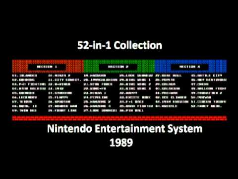 52 in 1 Collection (NES) Music - Star Force Japan Stage Clear