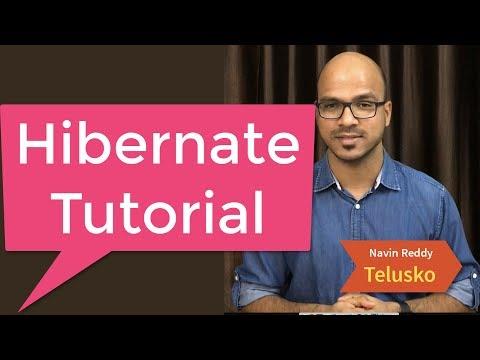 #1 Hibernate Tutorial   Introduction