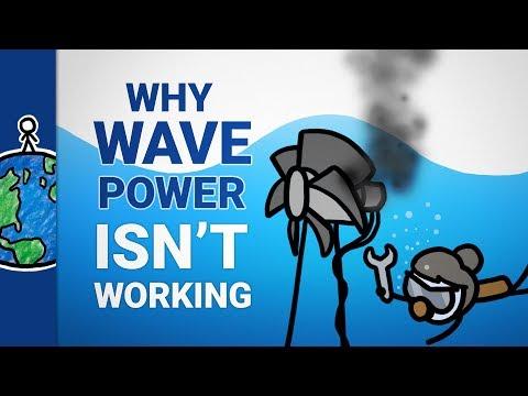 Proč nevyrábíme elektřinu z mořských vln