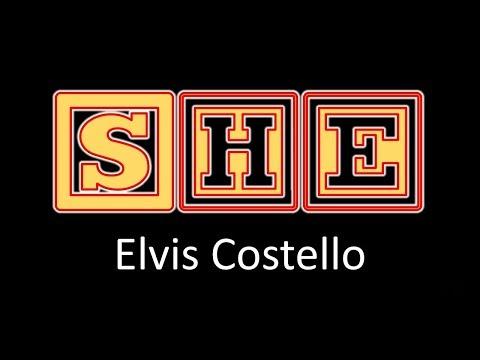 She by Elvis Costello-Lyrics