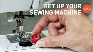 How To Set Up A Sewing Machine For Beginners With Angela Wolf
