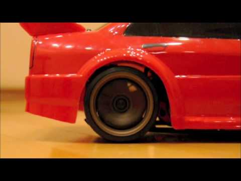 RC Mitsubishi Evo Drift Spec Video