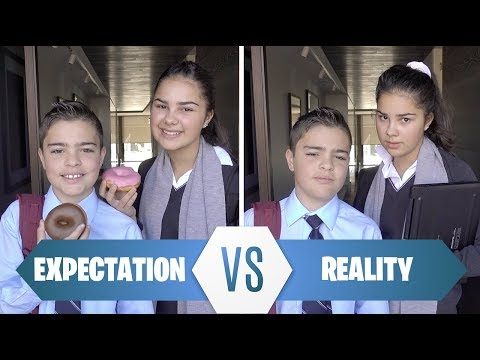 School Morning Routine - REALITY vs EXPECTATION | Grace's Room