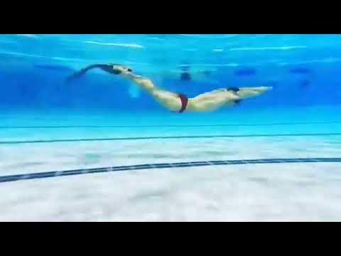 藍sir蹼泳示範