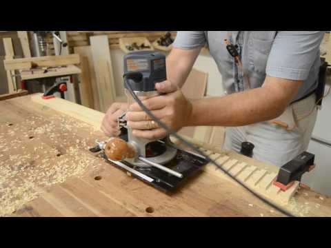 How to route repeated Dados with the CRB7 Combination Router Base