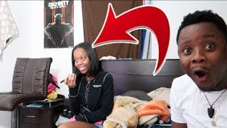 ANOTHER GIRL ANSWERING MY PHONE PRANK ON FIANCE'