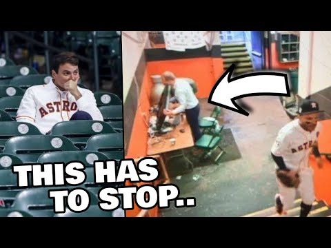 The Houston Astros Must Be Stopped... (rant)