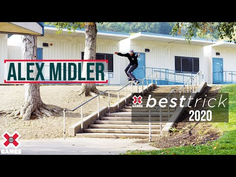 Image for video Alex Midler: REAL STREET BEST TRICK 2020 | World of X Games