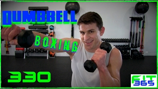 Advanced Dumbbell Boxing Workout Punching Back With Fitness by Relentless Jake Fitness