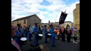 preview picture of video 'Paisley Castle Street Flute Band Scotland August 3rd 2013'
