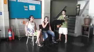 Ensaio musical para apresentação de 09/02/2019 na SEJ