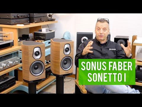 Sonus Faber Sonetto I - Diffusori da scaffale ECCEZIONALI