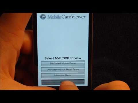 Video of Tablet-FREE Web, IP CamViewer