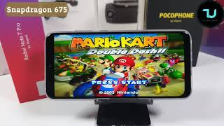 Snapdragon 675 Vs 636 Vs Helio P60 Gaming ComparisonDolphin TestAdreno 612 509 Mali G72