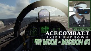 Ace Combat 7   VR Mission #1   Scramble   F-18F Gameplay   1080p 60fps