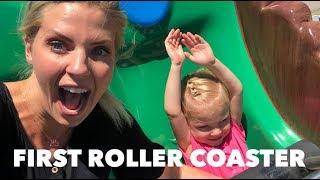 THE GIRLS FIRST ROLLER COASTER EVER | BEAR WORLD