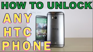 How to Unlock ANY HTC Phone on EVERY CARRIER (Cricket, MetroPCS, AT&T, T-Mobile, Bell, O2 ETC)
