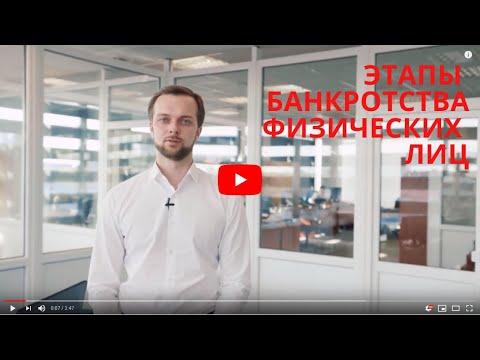 Пошаговое банкротство физических лиц - этапы процедуры банкротства