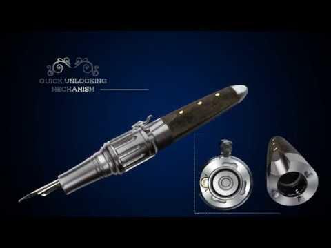 Revolver Fountain Pen, Fine