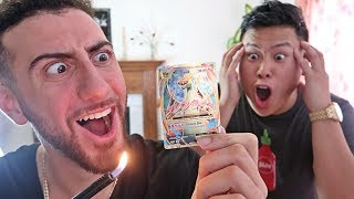$500 POKEMON CARD PRANK ON DAVIDPARODY!