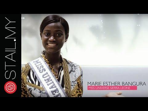Miss Universe Sierra Leone Marie Esther Bangura Got STAIL!
