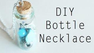 DIY: Bottle Necklace