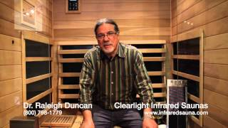 Dr. Raleigh Duncan Introduces Our New Full Spectrum Sanctuary Line of Infrared Saunas