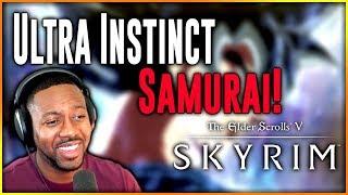 Skyrim SE Walkthrough With Mods ∙ Birth Of Ultra Instinct Samurai! [Part 1]