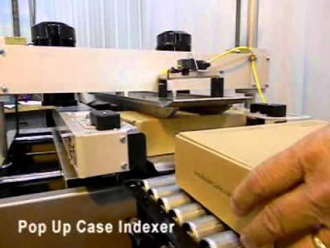 Selladora de cajas TBS-100 con sellado tipo L de 6 pulgadas.