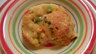 ~  chicken pot pies: quick & easy with crescent rolls ~