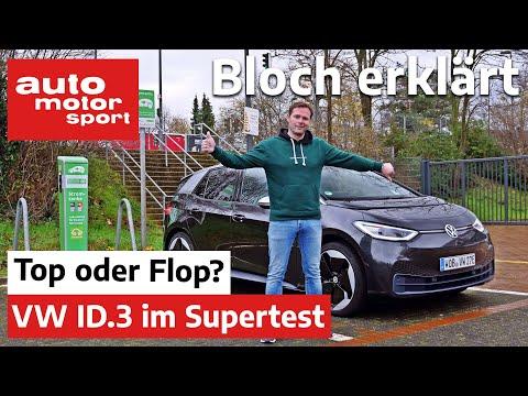 Top oder Flop? Der VW ID.3 im Elektroauto-Supertest - Bloch erklärt #124 | auto motor und sport