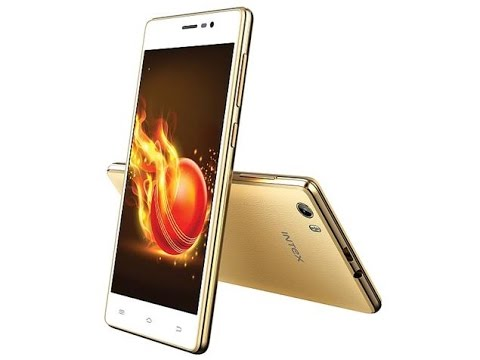 Intex Aqua Lions 3G  Launched  With 3500mAh Battery just Rs. 4,990