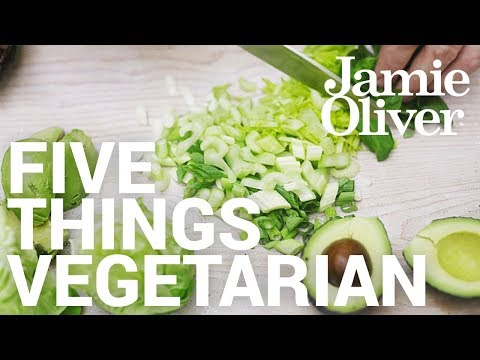 5 Things… Vegetarian | Food Tube Classic Recipes